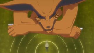 """Spoiler Boruto chap 55: Cửu Vĩ Hồ Kurama hi sinh. Code là phản diện kế tiếp mang sức mạnh của """"Chúa"""""""