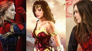 Điểm danh dàn nữ siêu anh hùng đẹp hút hồn của Marvel và DC (P1)