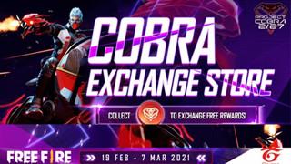 Sự kiện Garena Free Fire Cobra Go: Nhận Skins và Phần thưởng Miễn phí