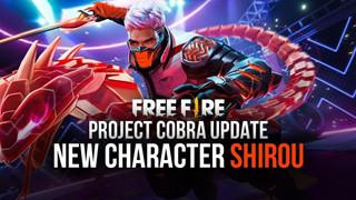 Đừng quên đăng nhập Free Fire vào ngày mai (27/2) để nhận nhân vật Shirou FREE