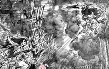 Spoiler Dr.Stone chap 187: Kohaku, Tsukasa, Hyouga tử chiến quân đội Stanley