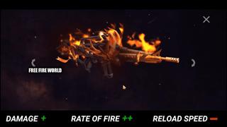 Free Fire mới: Chi tiết và thống kê về Netherworld M4A1 Incubator