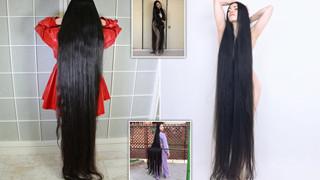 """[Góc chuyện lạ có thật] Cô gái không cắt tóc 15 năm để hóa thành """"Rapunzel"""" đời thực tại Nhật Bản"""