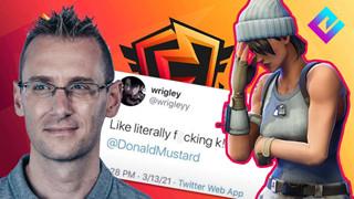 Đăng tweet chỉ trích CCO của Fornite, một đội tuyển Fornite bị cấm thi đấu ngay lập tức