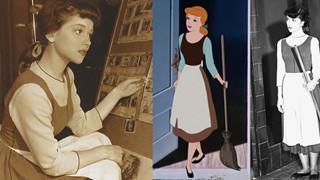 Loạt ảnh những diễn viên làm mẫu cho phim hoạt hình Cinderella ở hậu trường