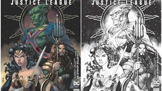 Bìa truyện Justice League mới nhất được lấy cảm hứng từ đạo diễn Zack Snyder