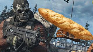 Cộng đồng game thủ hoảng hồn khi một nam streamer Call of Duty dùng bánh mì để chơi game