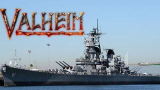 Người chơi Valheim hệ xây dựng: Làm hẳn một phiên bản tàu chiến trong game