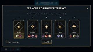 LMHT: Tốc Chiến sẽ thêm vào tính năng chọn vị trí trong Xếp hạng tại phiên bản 2.2