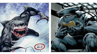 King Shark là ai ? Tên quái vật cá mấp vừa xuất hiện trong trailer mới THE SUICIDE SQUAD