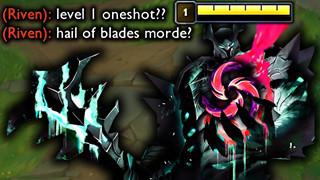 LMHT: Game thủ phát hiện lối chơi Mordekaiser Mưa Kiếm cực mạnh cân hết cả Đường trên