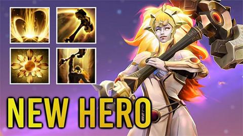 Dota 2 7.29: Chi tiết bộ kĩ năng và Talent của DawnBreaker - Nữ Hero stun diện rộng bá đạo