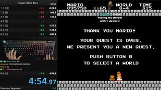 """Xuất game thủ phá kỷ lục Super Mario với thời gian phá đảo """"gần như không thể thực hiện"""""""