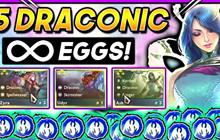 DTCL Mùa 5: Tỉ lệ ra Trứng Vàng và trang bị Long Tộc 3 và 5 Tướng chính xác nhất