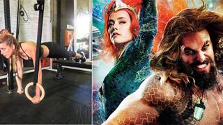 """Amber Heard chia sẻ hình ảnh luyện tập, hứa hẹn trở lại vai Mera trong """"Aquaman 2"""""""