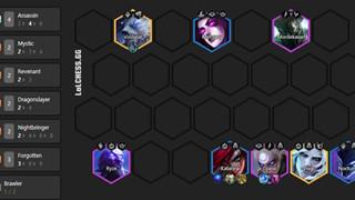 DTCL Mùa 5: Hướng dẫn Top đội hình Sát Thủ mạnh nhất rank Thách Đấu cho tân thủ
