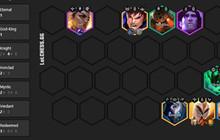 DTCL: Top đội hình 6 Chiến Binh mạnh nhất meta 11.15 Mùa 5.5 rank Thách Đấu