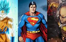 TOP 5 siêu anh hùng manga/comic giống Superman như đúc!