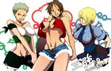 Fanart One PIece: Thôi mơ ước làm Vua Hải Tặc, Luffy chuyển giới làm IDOL giới trẻ