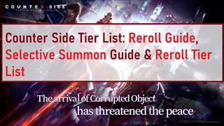 Counter Side - Tổng hợp các char SSR và SR manh nhất cho từng vị trí trong game