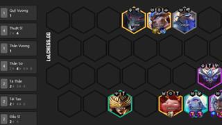 DTCL Mùa 5.5: Hướng dẫn Top đội hình Thần Sứ mạnh nhất meta 11.19 Rank Thách Đấu