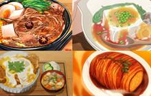 Quy tắc số 5 và loạt ảnh đồ ăn trong anime khiến bạn không khỏi thèm thuồng (P2)