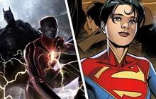 The Flash: Loạt ảnh hậu trường bị rò rỉ tiết lộ Supergirl là con gái của Superman?