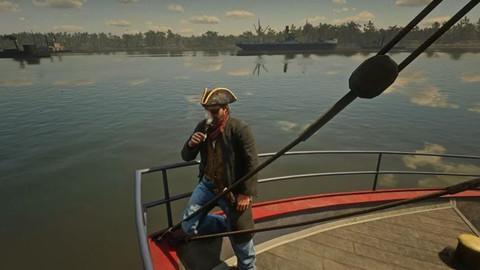 Bản Mod ấn tượng của Red Dead Redemption 2 biến cao bồi thành cướp biển