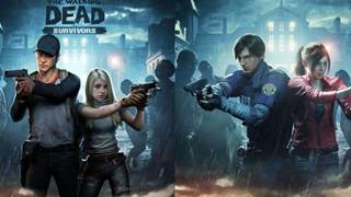 Game thủ phát hiện The Walking Dead: Survivors đạo nhái hình ảnh của Resident Evil 2 Remake một cách hài hước