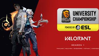 Giải đấu MGA VALORANT các trường Đại học mùa 1 chính thức bắt đầu