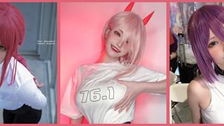 Cosplay Power, Makima, Reze trong Chainsaw Man, nữ coser xinh đẹp làm fan ngây ngất lúc nào không hay