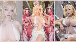 """Quên cả thở với loạt cosplay nữ thần Aphrodite trong Shuumatsu No Valkyrie siêu """"to"""""""
