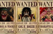 Bảng xếp hạng TOP 50 nhân vật có tiền truy nã cao nhất ONE PIECE: Luffy đứng thứ mấy?