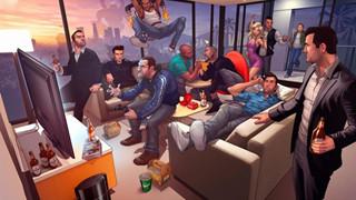 Các nhân vật chính của seri GTA sẽ như thế nào khi về già?
