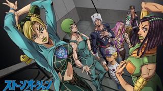 Anime Jojo's Bizarre Adventure Part 6: Stone Ocean tung trailer và xác định thời gian công chiếu