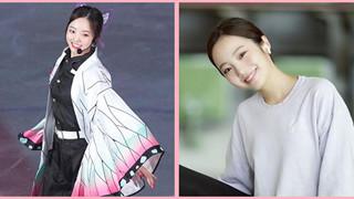 """Cosplay Trùng Trụ đã xinh, thiên thần trượt băng Marin Honda ngoài đời còn """"tươi"""" gấp bội phần"""