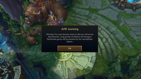 LMHT: Riot Games quyết tâm phạt nặng hơn đối với những game thủ AFK