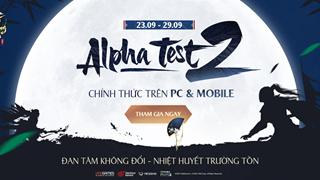 Nhất Mộng Giang Hồ VNG mở Alpha Test 2, hoàn trả 150%