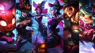 LMHT: Riot Games giới thiệu 6 bộ trang phục Phù Thủy mùa Halloween đặc biệt bản 11.20