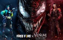Garena chính thức công bố hợp tác Free Fire x Venom 2
