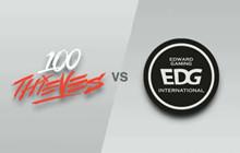 100T hất cẳng EDG, T1 chiếm lấy ngôi đầu bảng B tại CKTG