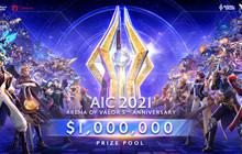 Giải đấu Liên Quân Mobile AIC sẽ có tổng giá trị giải thưởng lên đến 1 triệu USD