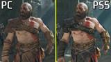 So sánh những điểm khác nhau giữa 2 phiên bản God of War dành cho PC và PS5